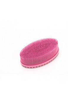 Щетка массажная для тела «АКТИНИЯ» нежно-розовая Bradex